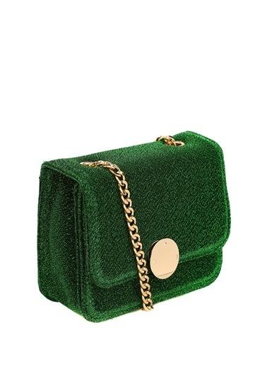 Vero Moda Vero Moda 10204211 Mıknatıslı El Çantası Yeşil